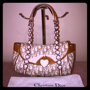 Christian Dior Monogram Chain Handle Handbag 💖